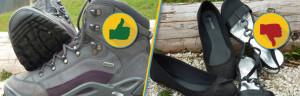 Gutes Schuhwerk für die Lind Horn Progjektwochen / Projekttage