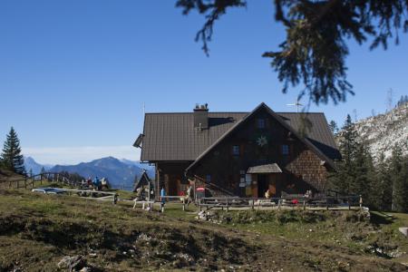 Hüttenerlebnis auf der Dürrensteinalm mit dem Lind Horn Kinderclub - Projektwochen