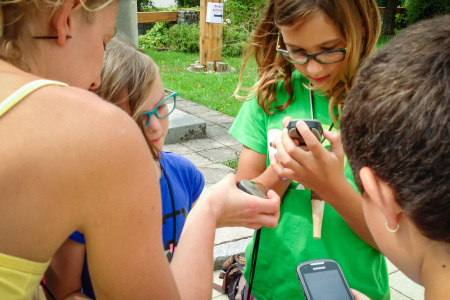 Geocaching - Lind Horn Kinderclub - Projekttage