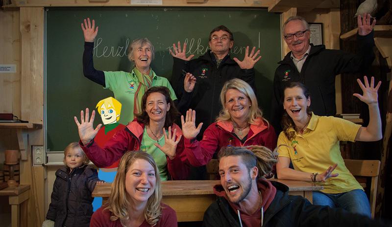 Lind Horn Kinderclub Team - Projektwoche & Projekttage in Lackenhof/Ötscher NÖ